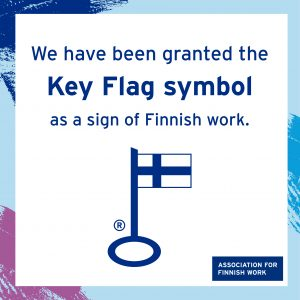 Seitatech's card payment services have been granted the Key Flag symbol